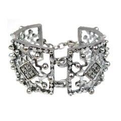 Karl Lagerfeld Studded Link Bracelet