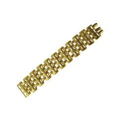1990s Gold RLM Robert Lee Morris Bracelet New Never worn
