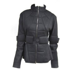 Fendi Military Quilted Spaceage Jacket
