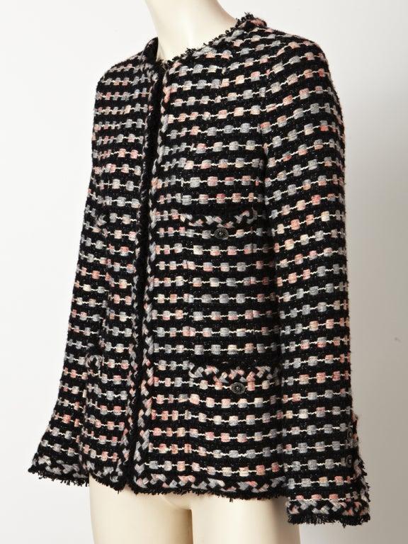 Women's Chanel Tweed Jacket For Sale