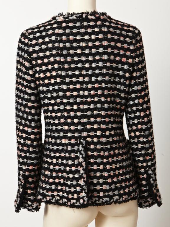 Chanel Tweed Jacket For Sale 1