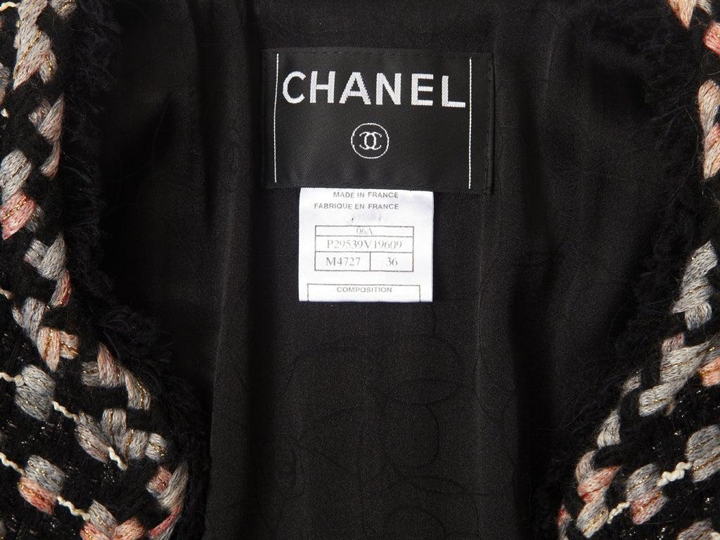 Chanel Tweed Jacket For Sale 2