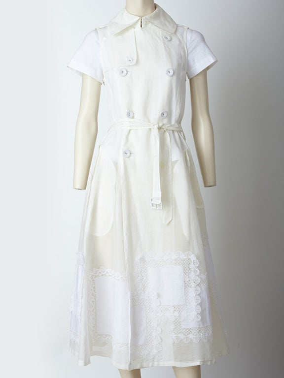 Commes des Garcons Trench Dress image 2