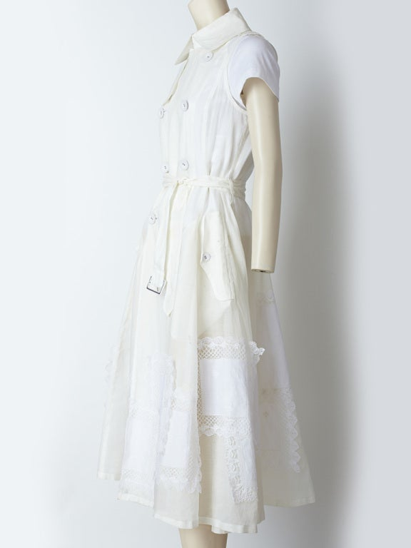 Commes des Garcons Trench Dress image 3