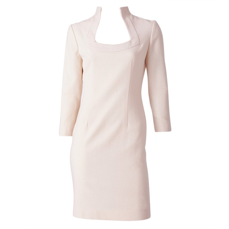Alexander McQueen ivory Wool Dress 1