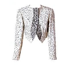 Geoffrey Beene Black and White Jacket