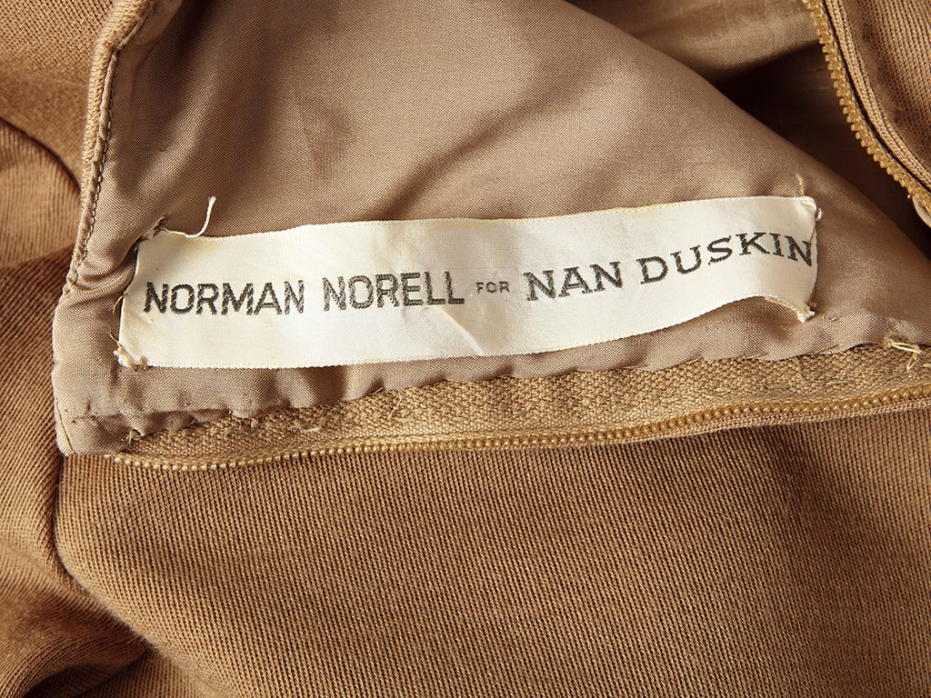 Norman Norell Wool Knit Day Dress 4