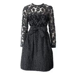 Polka Dot Cocktail Dress