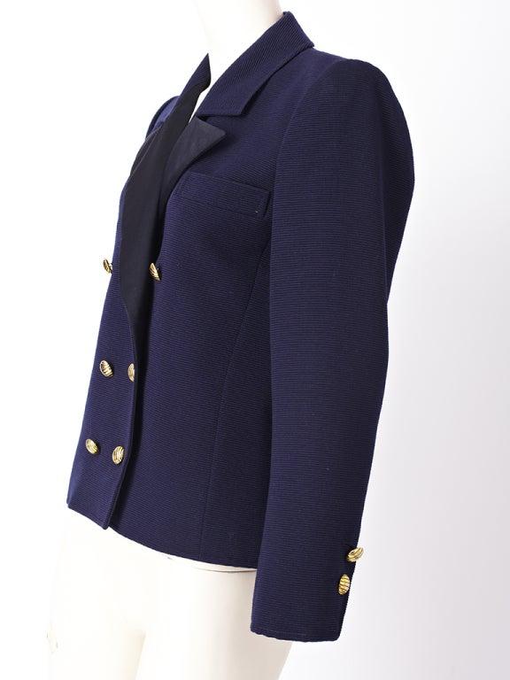 YSl Double Breatsed Jacket 2