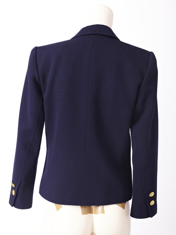 YSl Double Breatsed Jacket 3