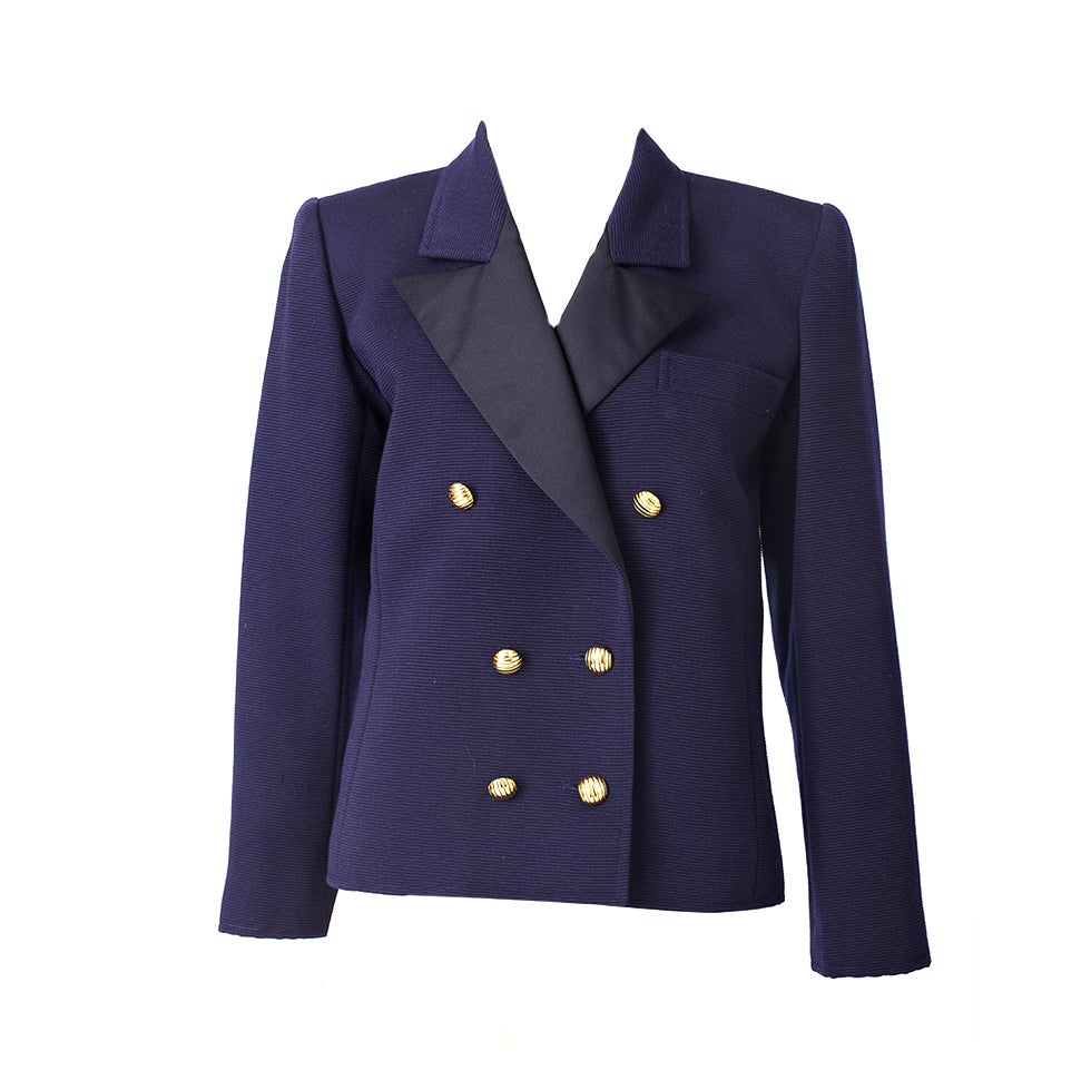 YSl Double Breatsed Jacket 1