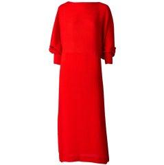 Ronaldus Shamask Silk Plisse Dress