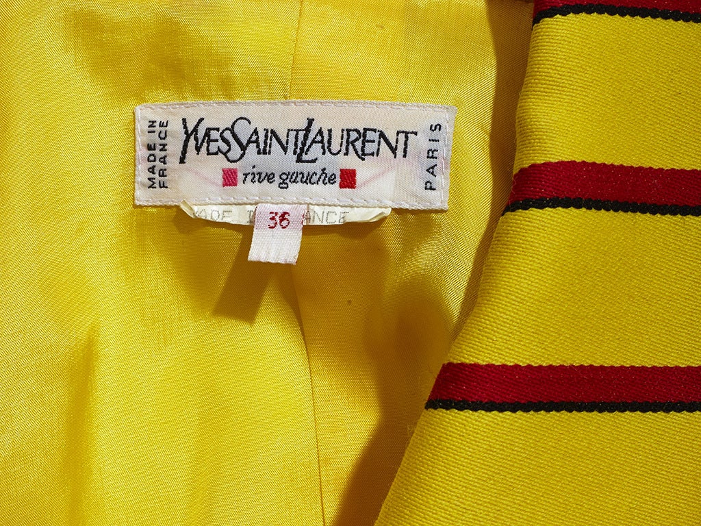 Yves Saint Laurent Stripe jacket 5