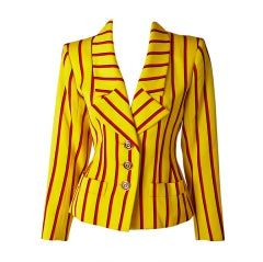Yves Saint Laurent Stripe jacket