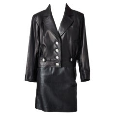 Yves St. Laurent Leather Ensemble