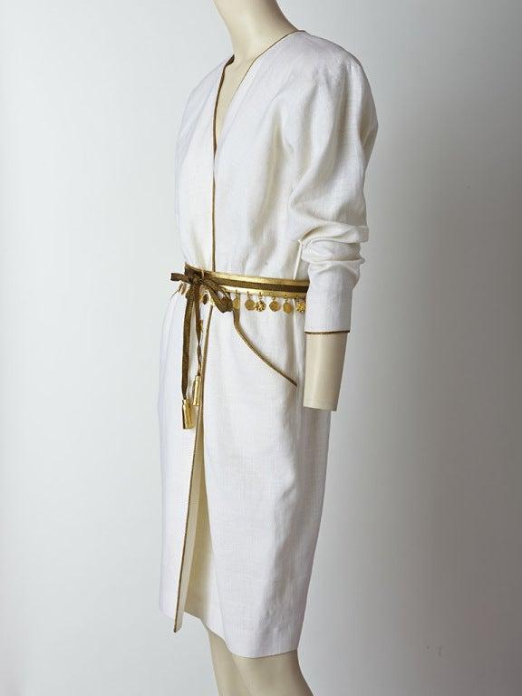 Yves Saint Laurent Linen Day Dress image 3