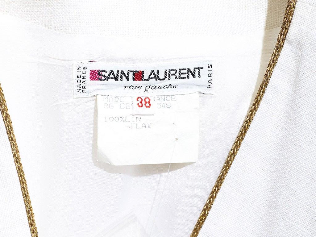 Yves Saint Laurent Linen Day Dress image 5