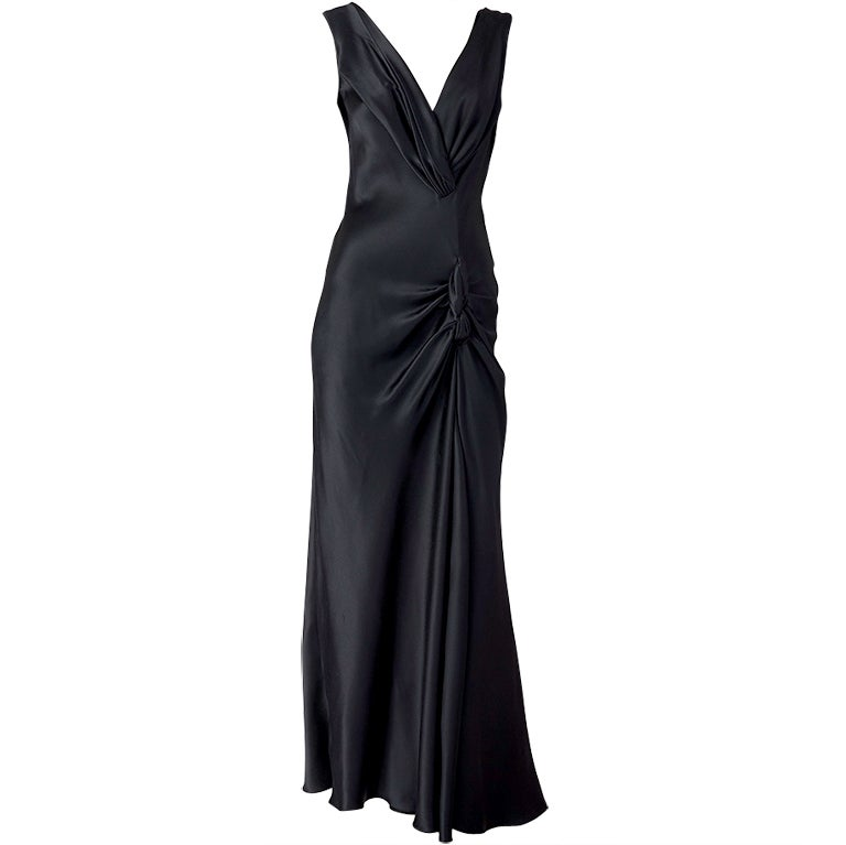 John galliano for christian dior bias cut gown at 1stdibs for Dior couture dress price