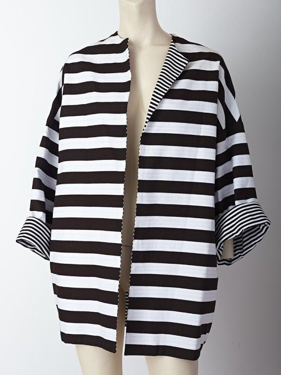 MW Moss Cotton Pique Reversible Jacket 2