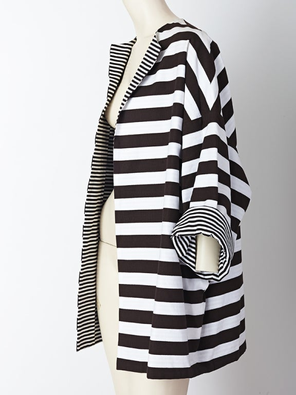 MW Moss Cotton Pique Reversible Jacket 3