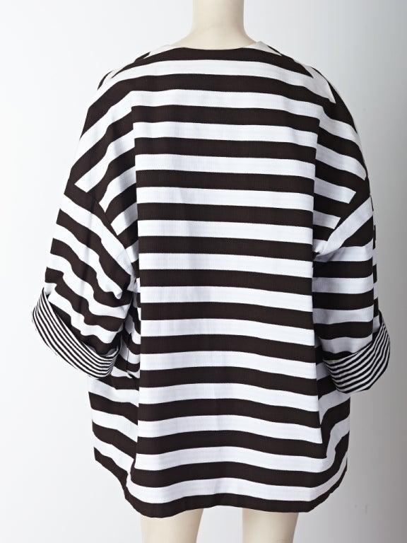 MW Moss Cotton Pique Reversible Jacket 4