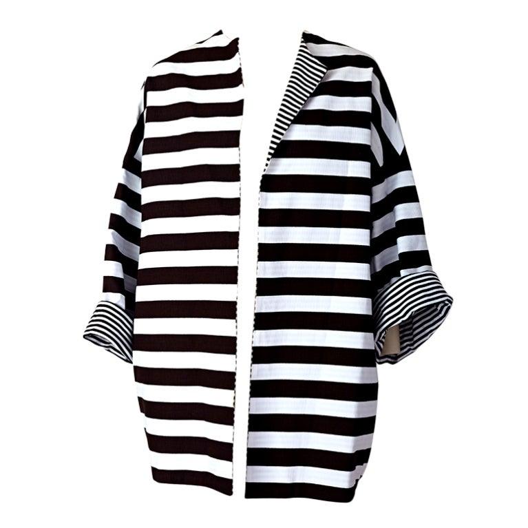 MW Moss Cotton Pique Reversible Jacket 1