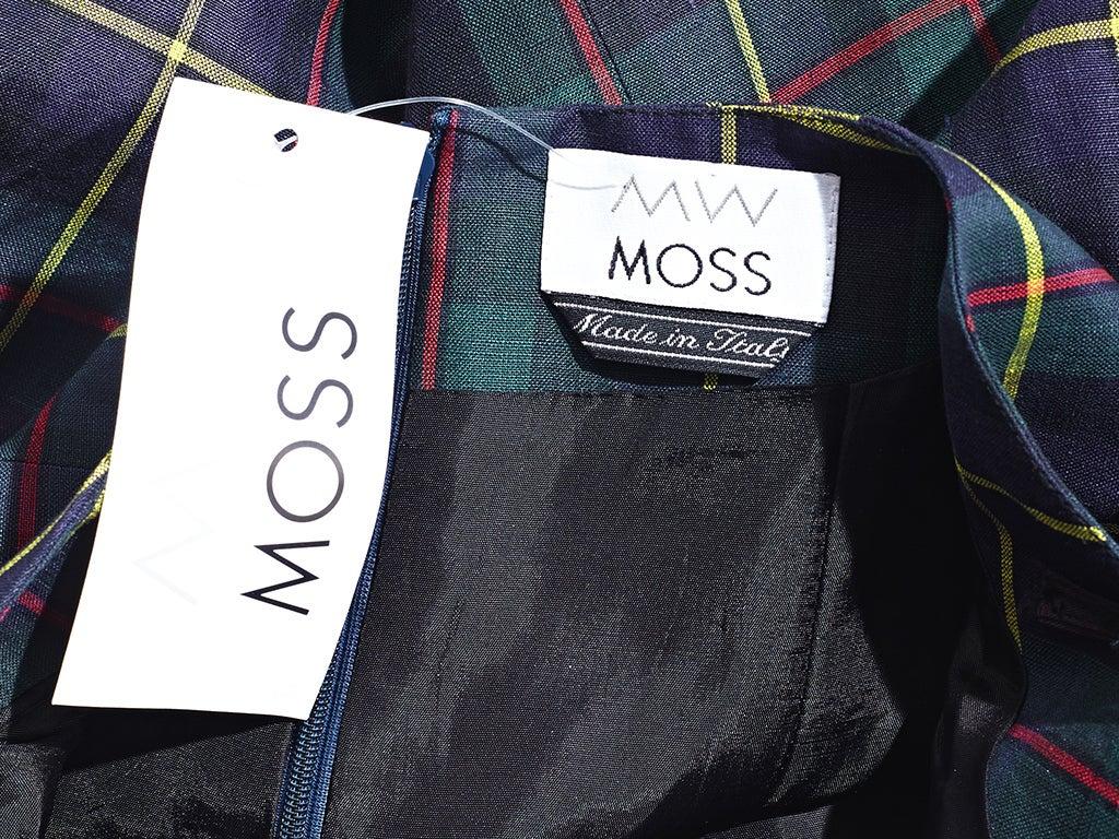 MW Moss Linen Halter Dress 4