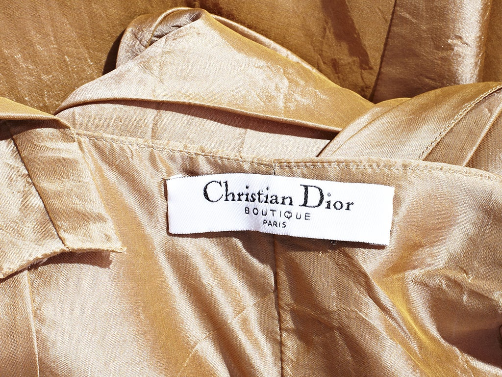 Galliano For Christian Dior 1950's Inspired Cocktail Dress 4