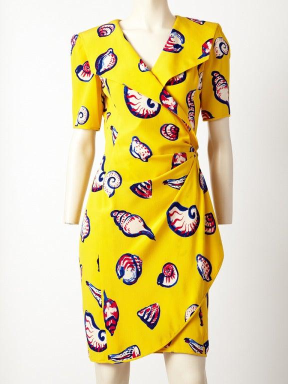 Ungaro Seashell Print Dress 2