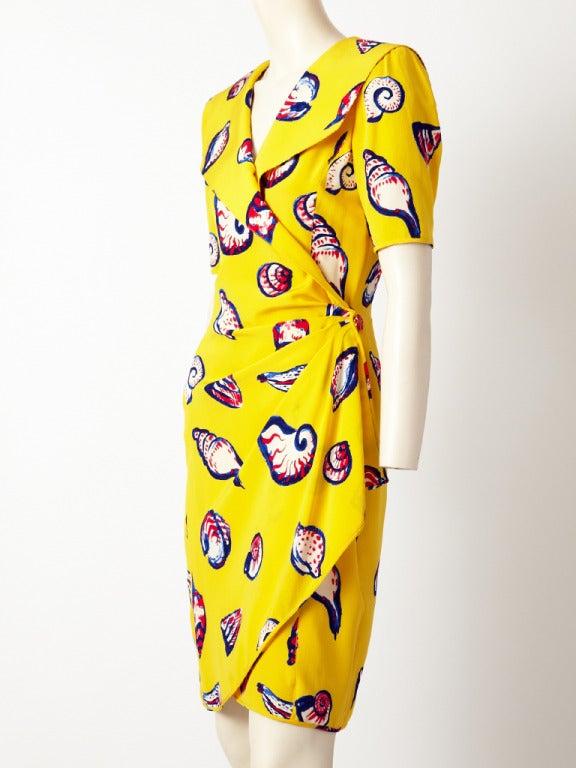 Ungaro Seashell Print Dress 3