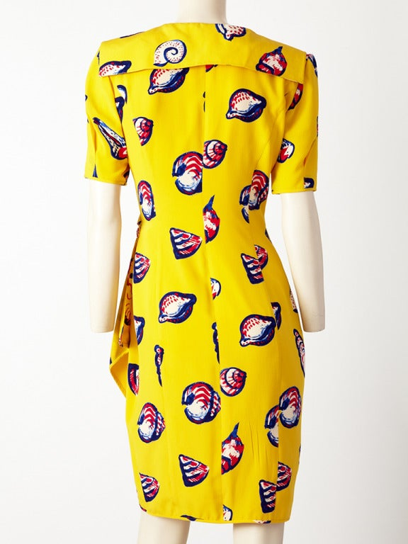 Ungaro Seashell Print Dress 4