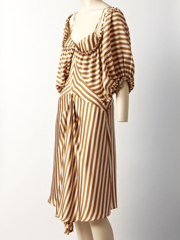 jean paul gautier striped dress at 1stdibs. Black Bedroom Furniture Sets. Home Design Ideas