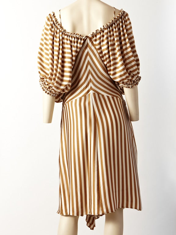 Jean Paul Gautier Striped Dress 3