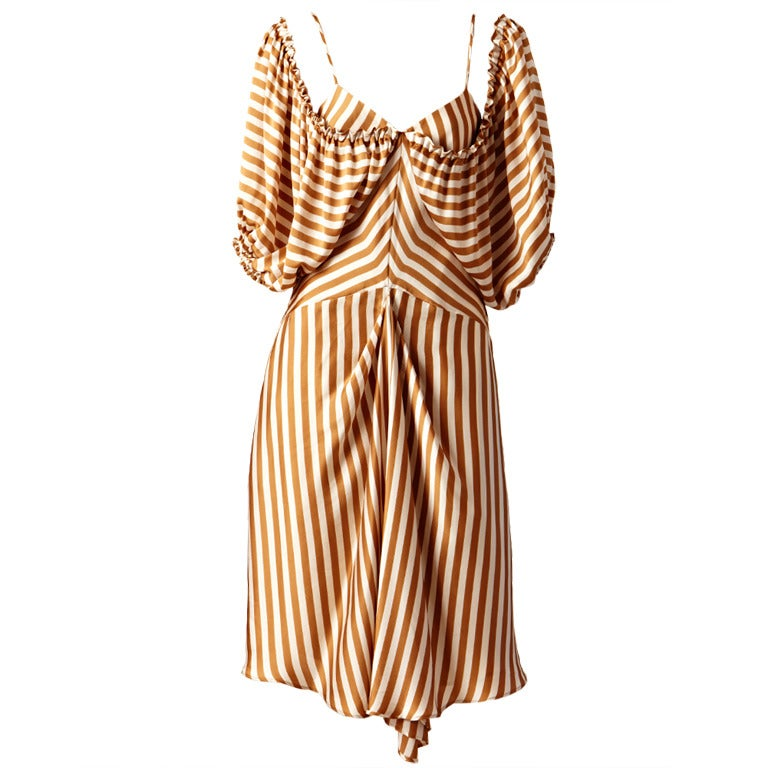 Jean Paul Gautier Striped Dress 1