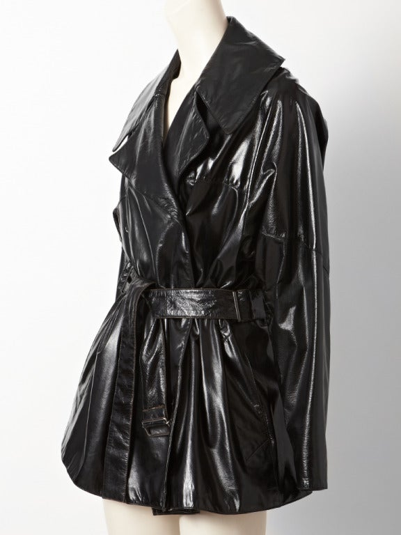 Alaia Patent Trench 2
