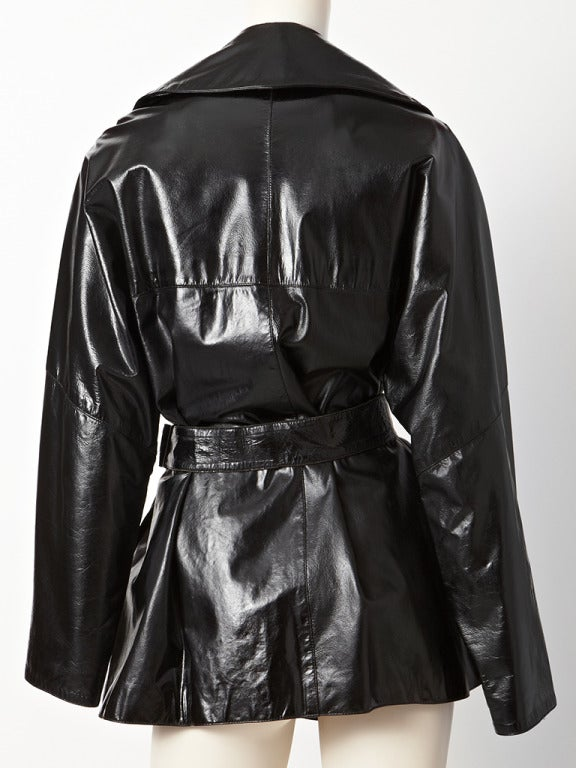 Alaia Patent Trench 3