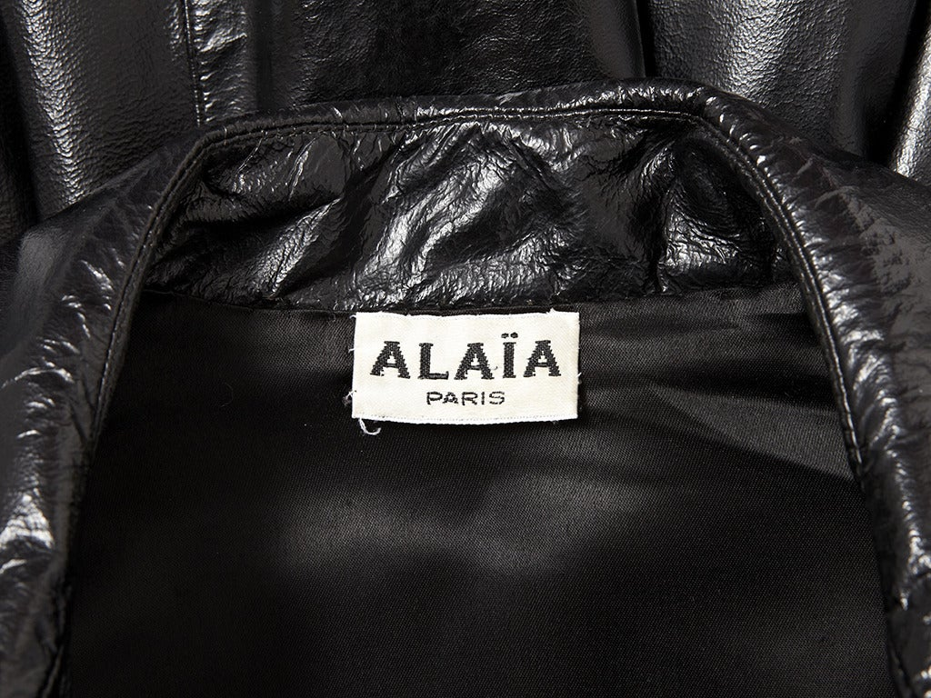 Alaia Patent Trench 4