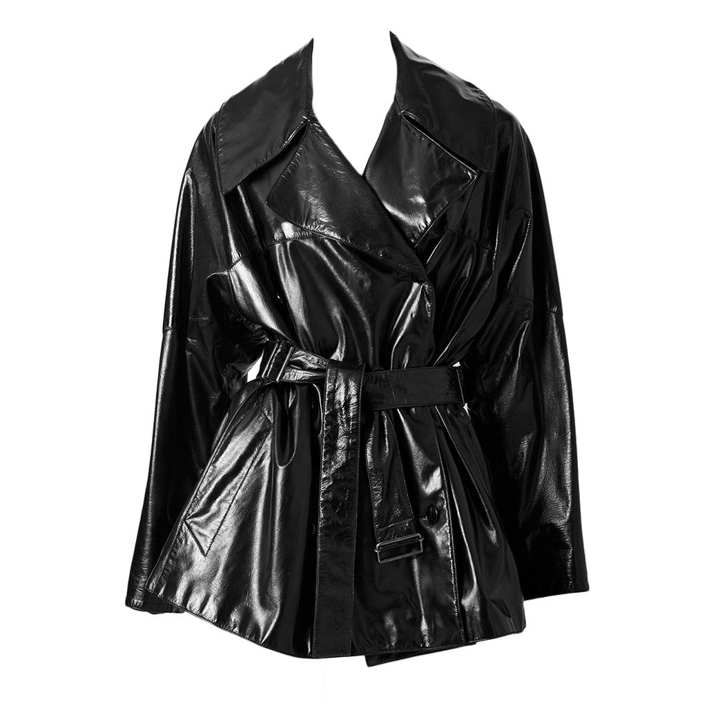 Alaia Patent Trench 1