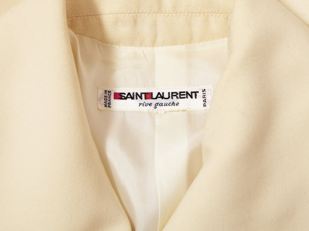 YSL Jumpsuit In Excellent Condition For Sale In New York, NY