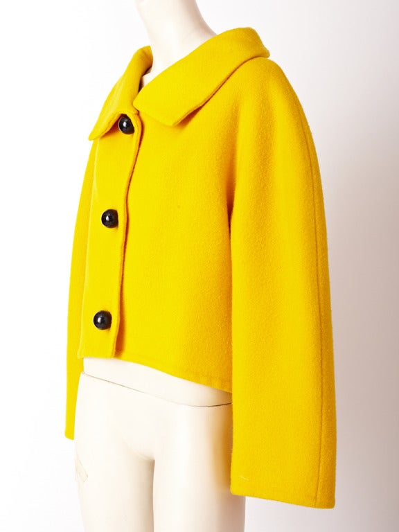 Arnold Scassi Double Face Wool Jacket 2