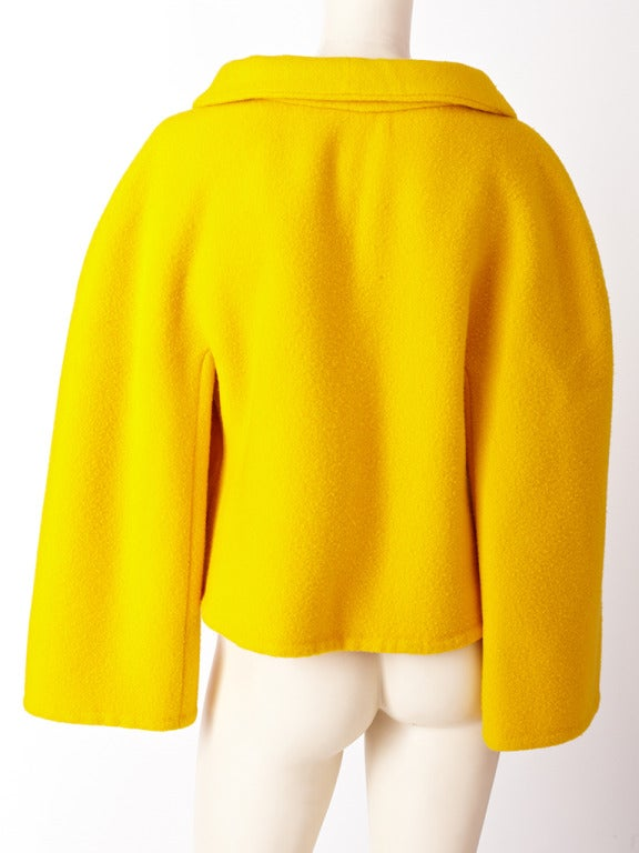 Arnold Scassi Double Face Wool Jacket 3