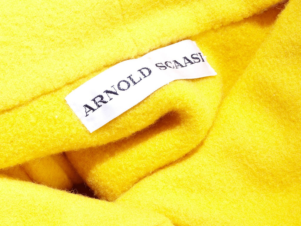 Arnold Scassi Double Face Wool Jacket 4