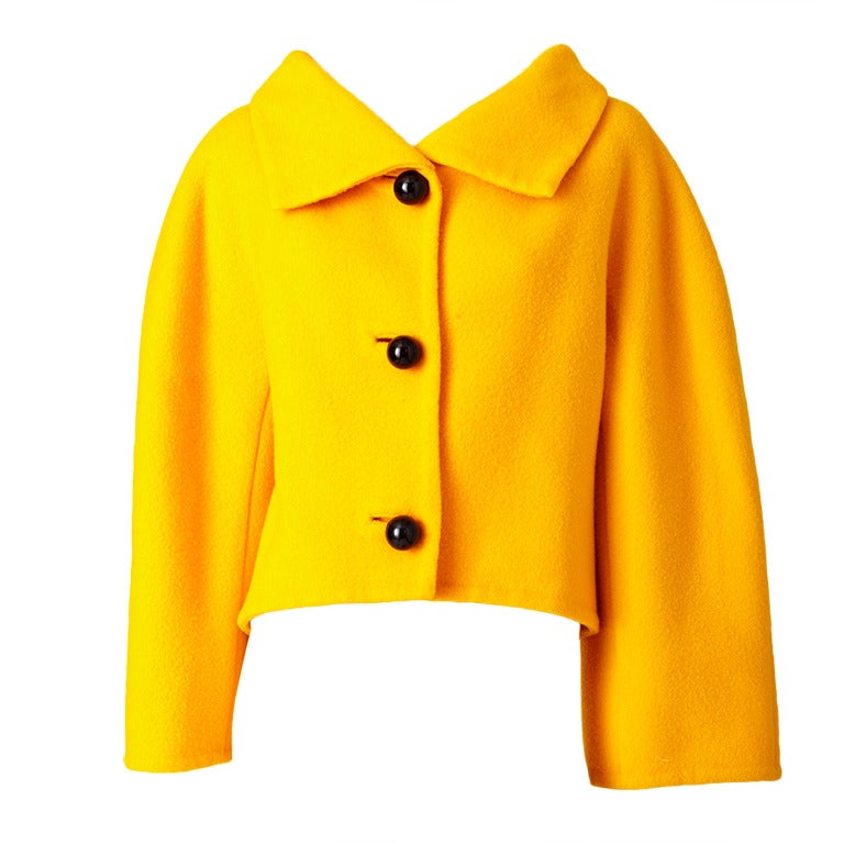 Arnold Scassi Double Face Wool Jacket 1