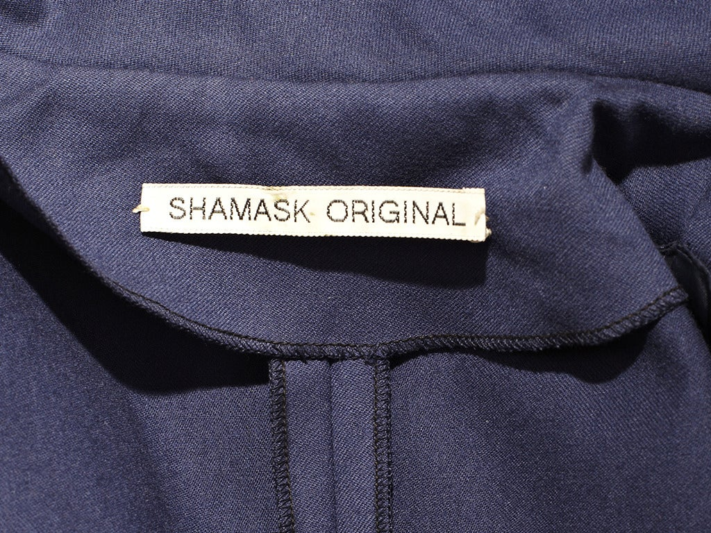 Ronaldus Shamask Jumpsuit In Excellent Condition For Sale In New York, NY