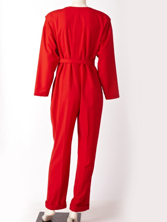 Red Shamask Jumpsuit For Sale