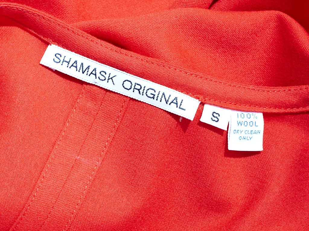 Shamask Jumpsuit In Excellent Condition For Sale In New York, NY