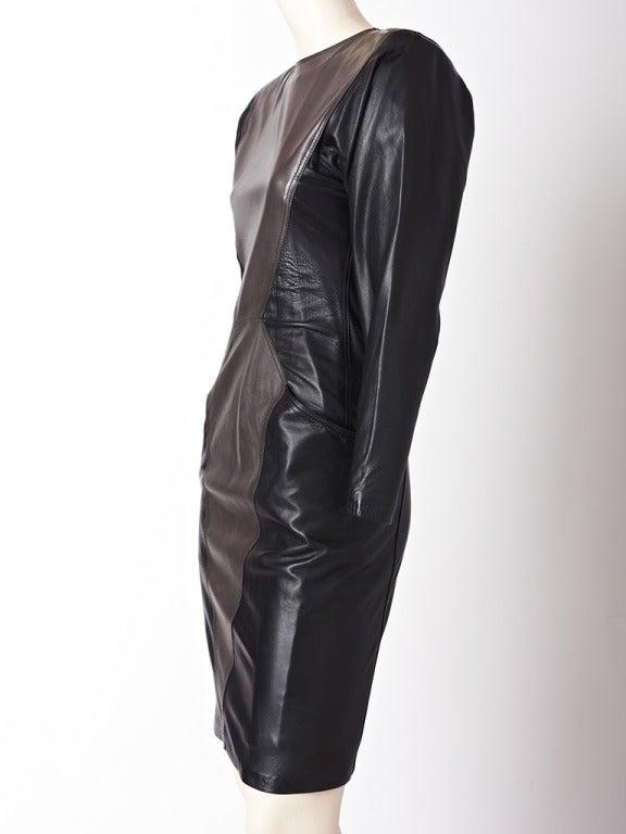 Ungaro Leather Dress 2