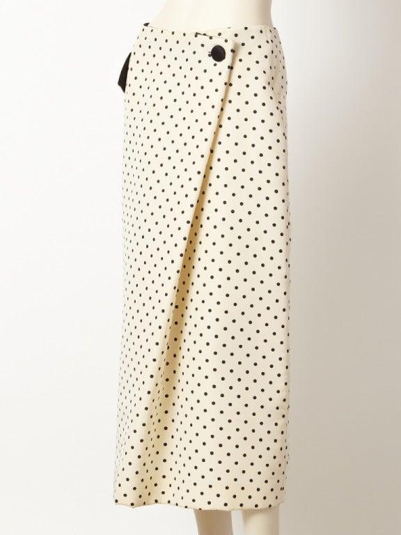 Geoffrey Beene Polka Dot Skirt 2
