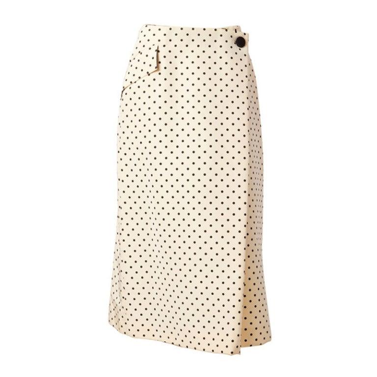 Geoffrey Beene Polka Dot Skirt 1