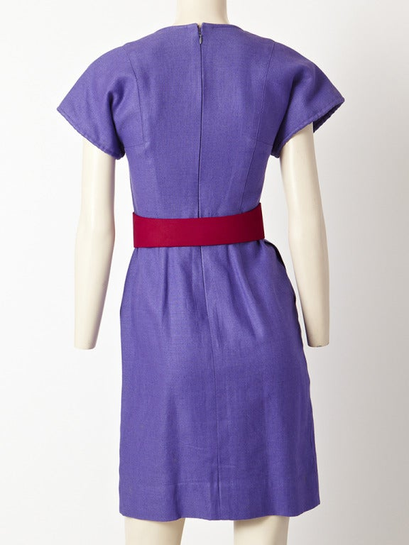Geoffrey Beene Linen Day Dress 3
